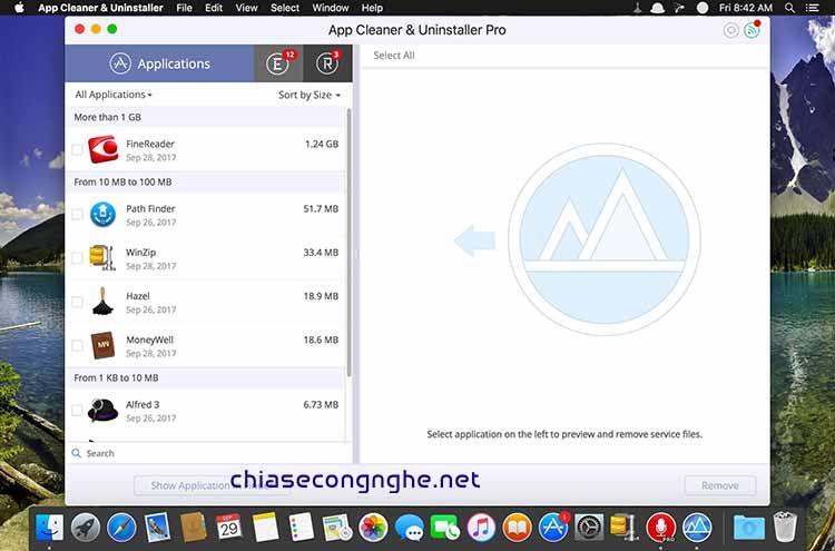 App Cleaner & Uninstaller Pro 6.3