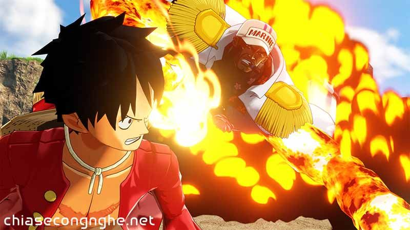Hình ảnh trong game ONE PIECE World Seeker