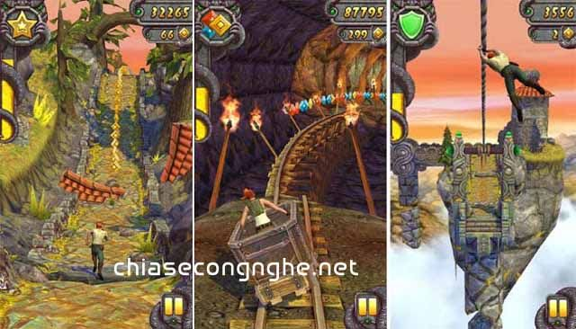 Temple Run 2 Mod Money trên Android