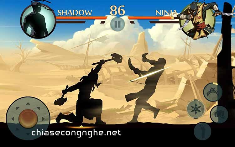 Shadow Fight 2 Mod trên Android
