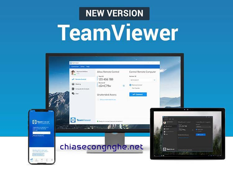 Download TeamViewer 15 Full + Portable